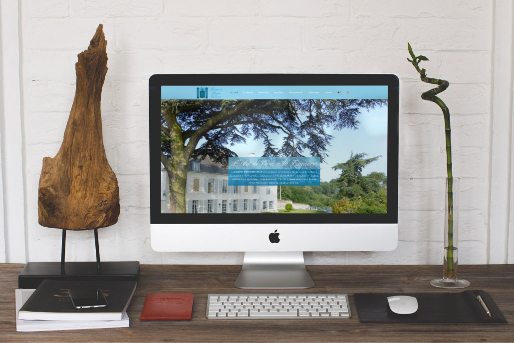 Site web du Manoir Plessis Bellevue