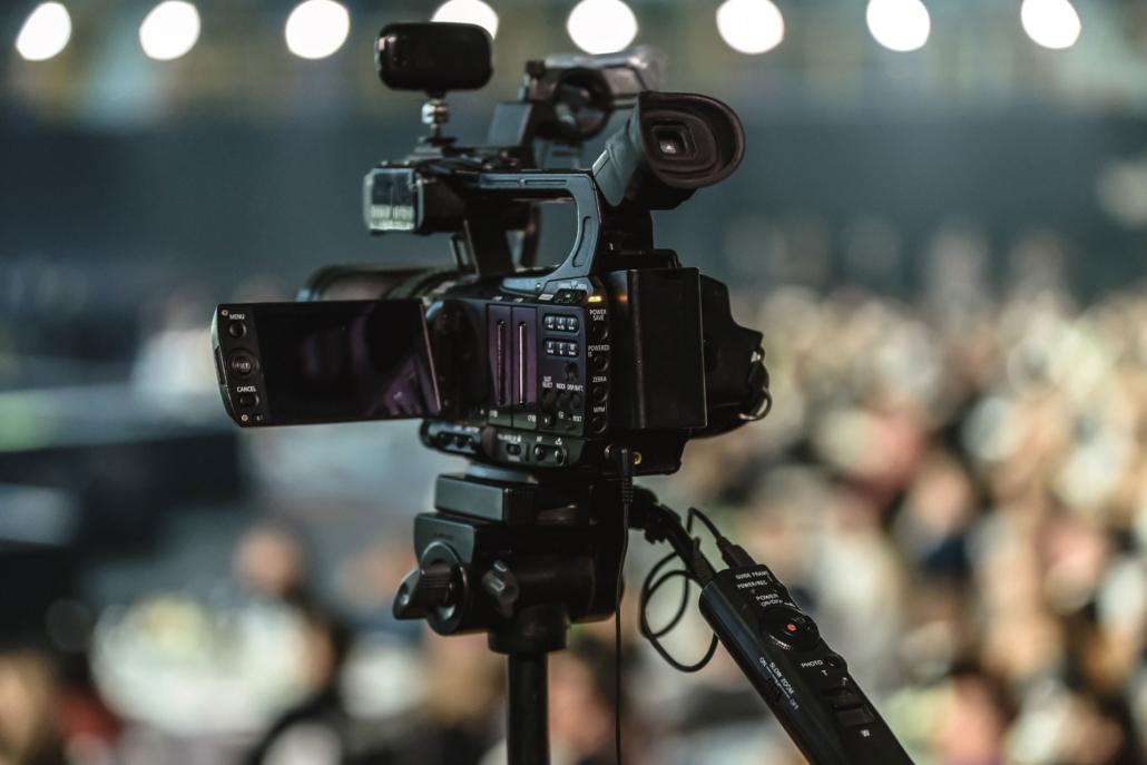 Production vidéo à Saumur