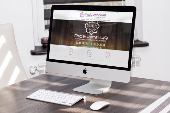 Site web de Pro'Events 49